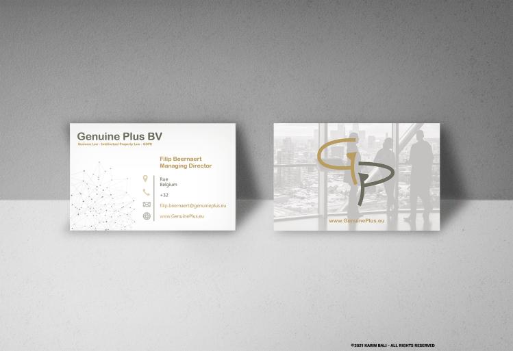Genuine Plus-Business Card