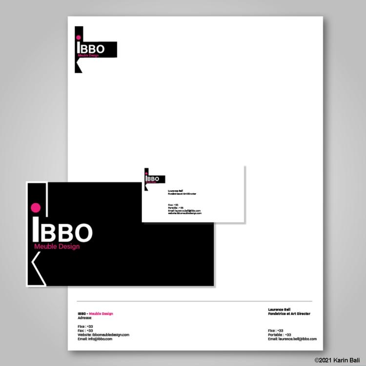 Brand Identity IBBO Meuble Design